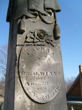 WIANT, LAURA A - Champaign County, Ohio | LAURA A WIANT - Ohio Gravestone Photos