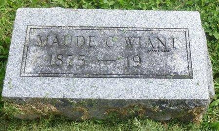 WIANT, MAUDE C - Champaign County, Ohio | MAUDE C WIANT - Ohio Gravestone Photos