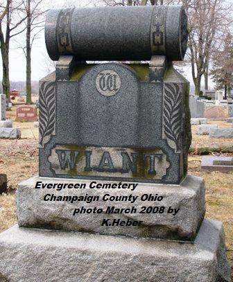 WIANT, MONUMENT - Champaign County, Ohio | MONUMENT WIANT - Ohio Gravestone Photos