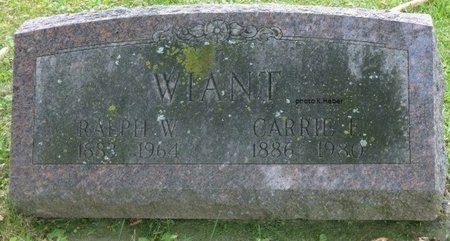 WIANT, CARRIE FLORENCE - Champaign County, Ohio | CARRIE FLORENCE WIANT - Ohio Gravestone Photos