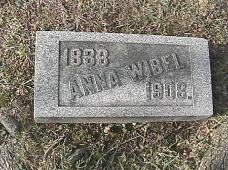 PLANK WIBEL, ANNA - Champaign County, Ohio   ANNA PLANK WIBEL - Ohio Gravestone Photos