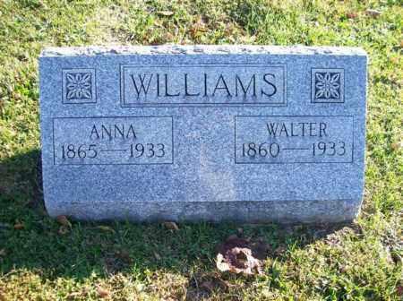 WILLIAMS, ANNA - Champaign County, Ohio | ANNA WILLIAMS - Ohio Gravestone Photos