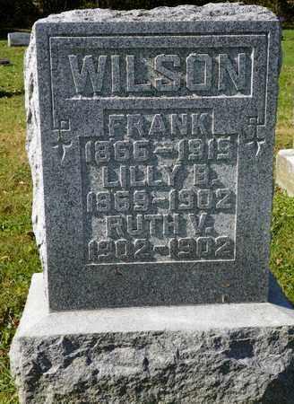 WILSON, LILLY B. - Champaign County, Ohio | LILLY B. WILSON - Ohio Gravestone Photos