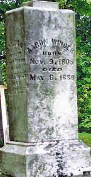 WINDER, AARON - Champaign County, Ohio | AARON WINDER - Ohio Gravestone Photos