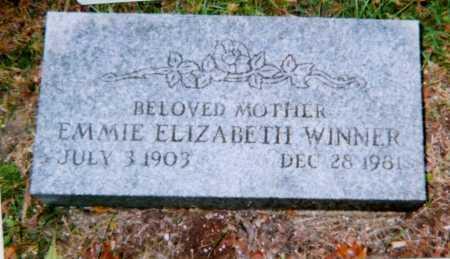 WINNER, EMMIE ELIZABETH VOKE - Champaign County, Ohio | EMMIE ELIZABETH VOKE WINNER - Ohio Gravestone Photos