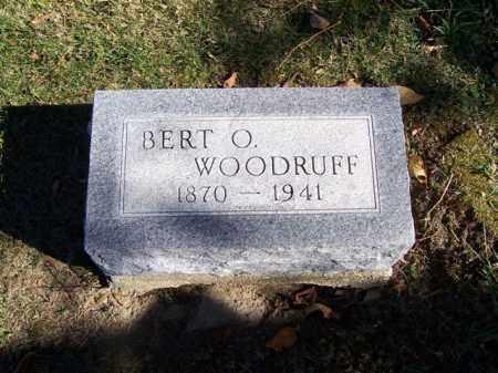 WOODRUFF, BERT  O - Champaign County, Ohio | BERT  O WOODRUFF - Ohio Gravestone Photos