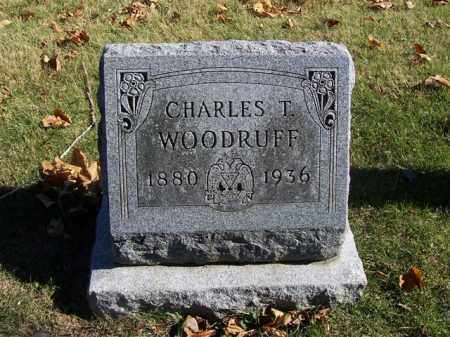 WOODRUFF, CHARLES T. - Champaign County, Ohio   CHARLES T. WOODRUFF - Ohio Gravestone Photos