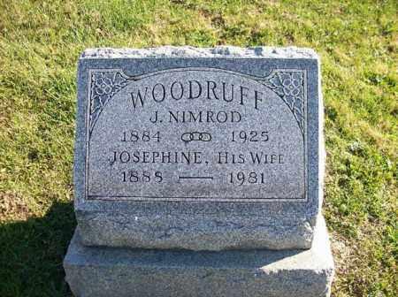 WOODRUFF, J NEMROD - Champaign County, Ohio | J NEMROD WOODRUFF - Ohio Gravestone Photos