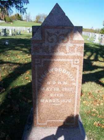 WOODRUFF, JANE - Champaign County, Ohio   JANE WOODRUFF - Ohio Gravestone Photos