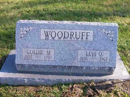WOODRUFF, GOLDIE M. - Champaign County, Ohio   GOLDIE M. WOODRUFF - Ohio Gravestone Photos