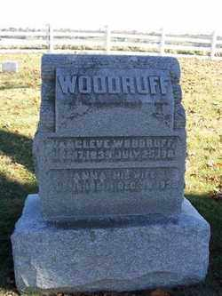 WOODRUFF, VAN CLEVE - Champaign County, Ohio | VAN CLEVE WOODRUFF - Ohio Gravestone Photos