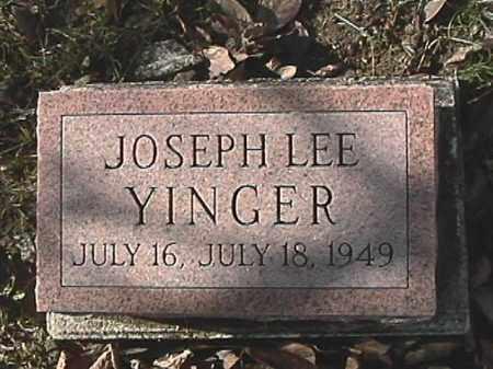 YINGER, JOSEPH LEE - Champaign County, Ohio   JOSEPH LEE YINGER - Ohio Gravestone Photos