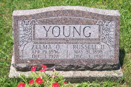YOUNG, ZELMA - Champaign County, Ohio | ZELMA YOUNG - Ohio Gravestone Photos