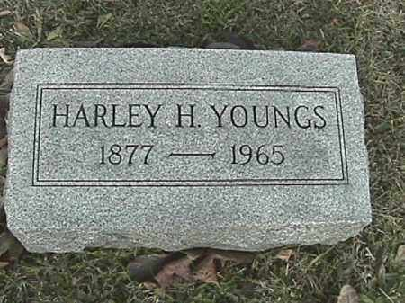 YOUNGS, HARLEY H. - Champaign County, Ohio | HARLEY H. YOUNGS - Ohio Gravestone Photos