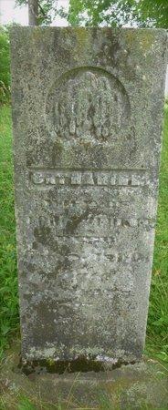 ZERKLE, CATHERINE - Champaign County, Ohio   CATHERINE ZERKLE - Ohio Gravestone Photos