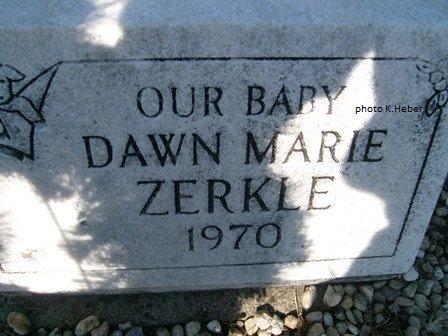 ZERKLE, DAWN MARIE - Champaign County, Ohio | DAWN MARIE ZERKLE - Ohio Gravestone Photos