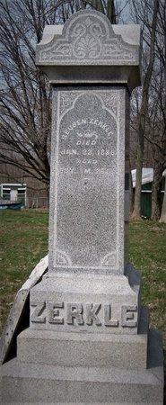 ZERKLE, REUBEN - Champaign County, Ohio   REUBEN ZERKLE - Ohio Gravestone Photos