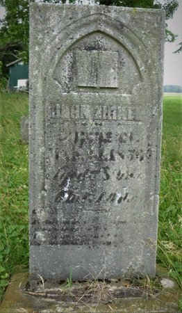 ZIRKEL, JOHN - Champaign County, Ohio | JOHN ZIRKEL - Ohio Gravestone Photos