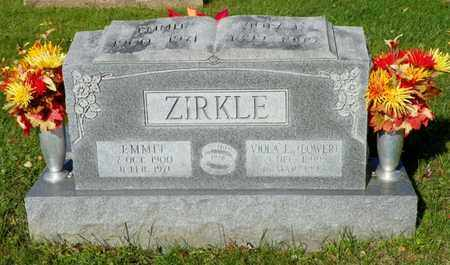 ZIRKLE, VIOLA E. - Champaign County, Ohio | VIOLA E. ZIRKLE - Ohio Gravestone Photos
