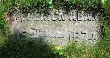 ADAMS, FREDERICK - Clark County, Ohio   FREDERICK ADAMS - Ohio Gravestone Photos