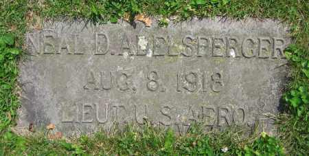 ADELSPERGER, NEAL D. - Clark County, Ohio | NEAL D. ADELSPERGER - Ohio Gravestone Photos