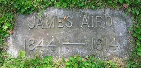 AIRD, JAMES - Clark County, Ohio   JAMES AIRD - Ohio Gravestone Photos