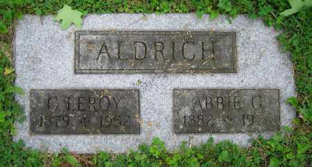 ALDRICH, C. LEROY - Clark County, Ohio | C. LEROY ALDRICH - Ohio Gravestone Photos
