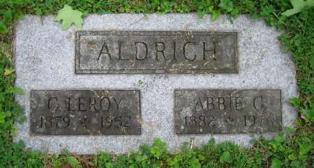 ALDRICH, ABBIE G. - Clark County, Ohio | ABBIE G. ALDRICH - Ohio Gravestone Photos