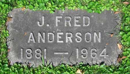 ANDERSON, J. FRED - Clark County, Ohio | J. FRED ANDERSON - Ohio Gravestone Photos