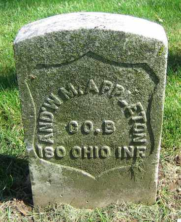 APPLETON, AND'W M. - Clark County, Ohio   AND'W M. APPLETON - Ohio Gravestone Photos