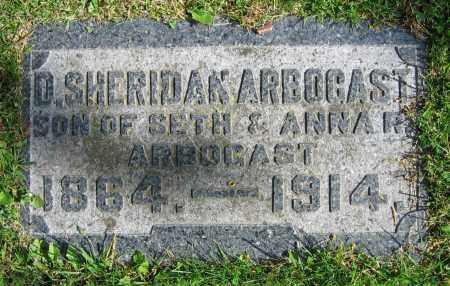ARBOGAST, D. SHERIDAN - Clark County, Ohio   D. SHERIDAN ARBOGAST - Ohio Gravestone Photos