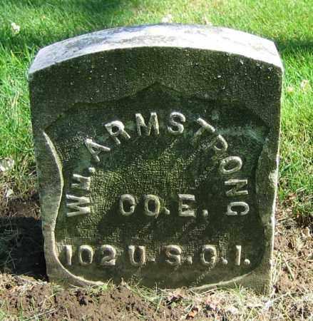 ARMSTRONG, WM. - Clark County, Ohio | WM. ARMSTRONG - Ohio Gravestone Photos