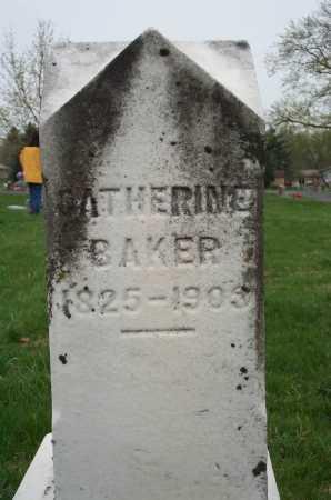 BAKER, CATHERINE - Clark County, Ohio | CATHERINE BAKER - Ohio Gravestone Photos