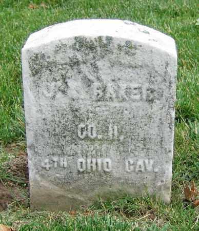 BAKER, J.R. - Clark County, Ohio   J.R. BAKER - Ohio Gravestone Photos