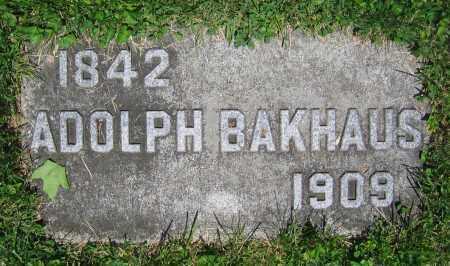 BAKHAUS, ADOLPH - Clark County, Ohio | ADOLPH BAKHAUS - Ohio Gravestone Photos