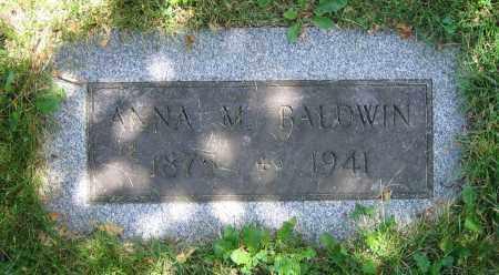BALDWIN, ANNA M. - Clark County, Ohio   ANNA M. BALDWIN - Ohio Gravestone Photos