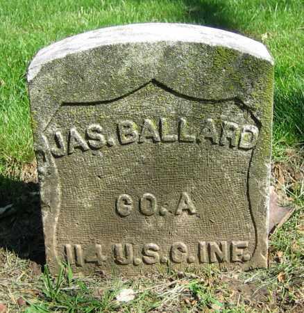 BALLARD, JAS. - Clark County, Ohio | JAS. BALLARD - Ohio Gravestone Photos
