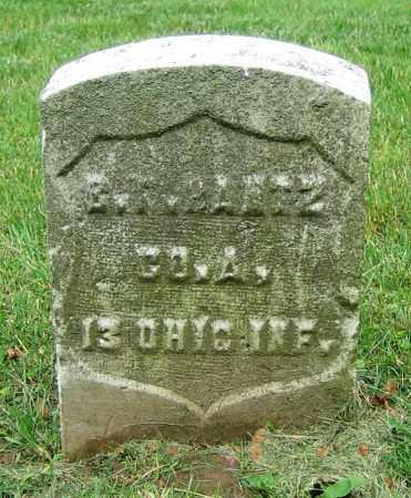 BANTZ, G.F. - Clark County, Ohio   G.F. BANTZ - Ohio Gravestone Photos