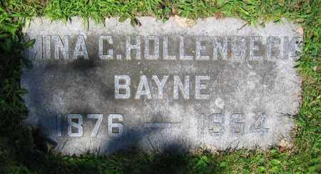 BAYNE, MINA G. - Clark County, Ohio | MINA G. BAYNE - Ohio Gravestone Photos