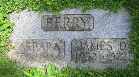 BERRY, JAMES D. - Clark County, Ohio | JAMES D. BERRY - Ohio Gravestone Photos