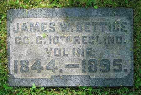 BETTICE, JAMES W. - Clark County, Ohio | JAMES W. BETTICE - Ohio Gravestone Photos
