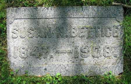 BETTICE, SUSAN N. - Clark County, Ohio   SUSAN N. BETTICE - Ohio Gravestone Photos