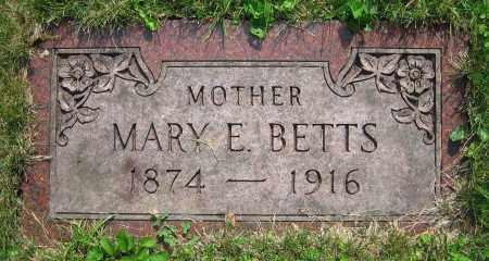BETTS, MARY E. - Clark County, Ohio   MARY E. BETTS - Ohio Gravestone Photos