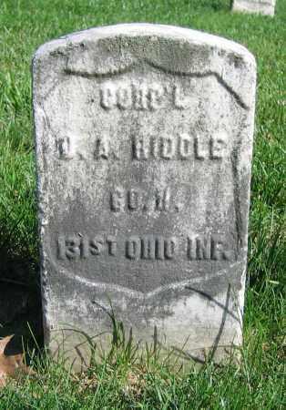 BIDDLE, J.A. - Clark County, Ohio   J.A. BIDDLE - Ohio Gravestone Photos