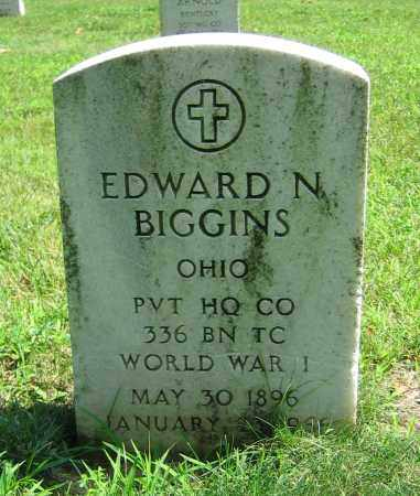 BIGGINS, EDWARD N. - Clark County, Ohio | EDWARD N. BIGGINS - Ohio Gravestone Photos