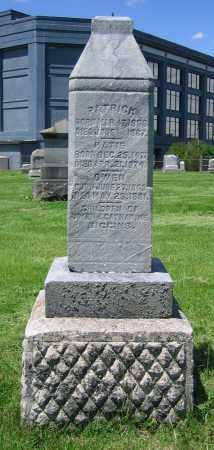 BIGGINS, PATRICK - Clark County, Ohio   PATRICK BIGGINS - Ohio Gravestone Photos