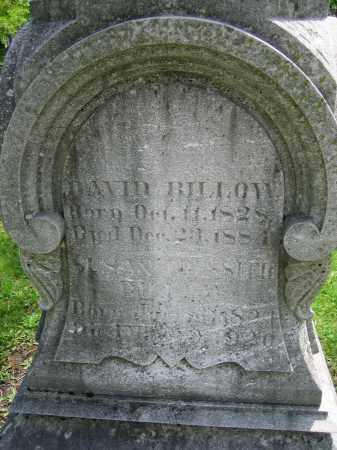 BILLOW, SUSAN - Clark County, Ohio | SUSAN BILLOW - Ohio Gravestone Photos