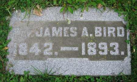 BIRD, REV. JAMES A. - Clark County, Ohio | REV. JAMES A. BIRD - Ohio Gravestone Photos