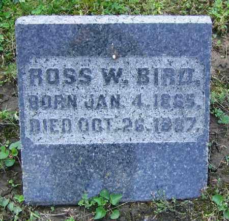 BIRD, ROSS W. - Clark County, Ohio   ROSS W. BIRD - Ohio Gravestone Photos