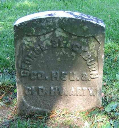BLACKBURN, GEORGE - Clark County, Ohio | GEORGE BLACKBURN - Ohio Gravestone Photos